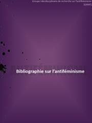 Bibliographie sur l'antiféminisme